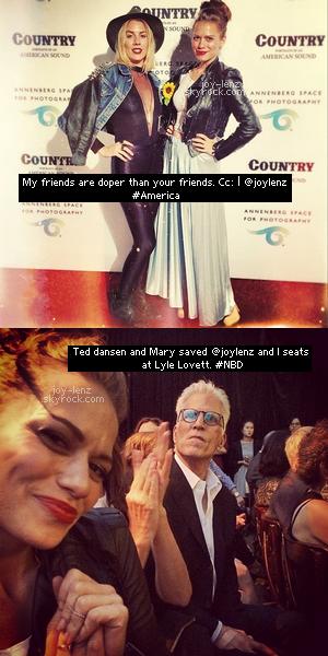 22 Mai 2014 - Bethany Joy Lenz et son amie JC Coccoli se sont rendues à Century City où elles ont assisté au  Annenberg Space for Photography Opening Celebration for 'Country, Portraits of an American Sound'.