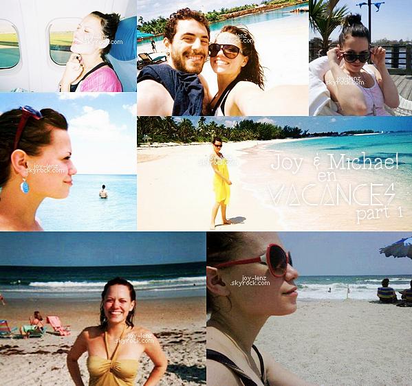 En fouillant sur le net je suis tombée sur de vieilles photos personnelles de Bethany et Michael en vacances (au Bahamas peut être?). Voici donc un petit flashback du couple.
