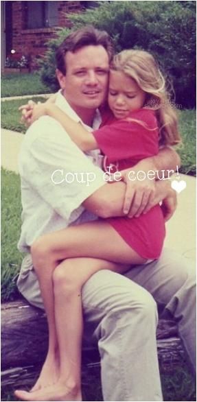 Gros coup de coeur pour cette photo de Joy et son papa.