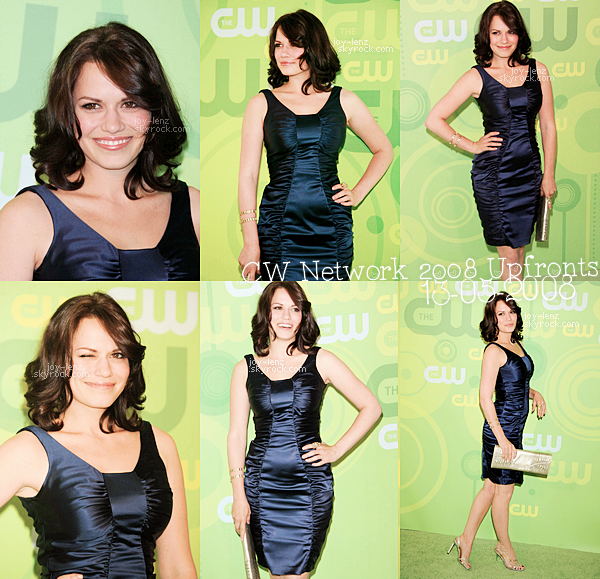 13 Mai 2008 - Bethany Joy Lenz et ses co-stars de One Tree Hill se sont rendus au CW Network 2008 Upfronts.