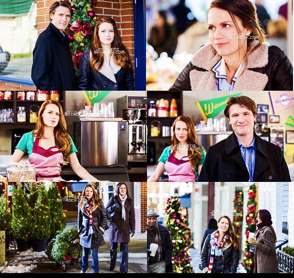 En Mars Bethany Joy Lenz était à Vancouver, au Canada,  pour le tournage de The Christmas Secret, un téléfilm de Noël qui sera diffusé à la fin de l'année sur la chaîne Hallmark. Voici enfin les photos promotionnelles et les stills de TCS ! Hâte de voir le film -dont vous pouvez lire le résumé ici-. (Je trouve que sur la deuxième photo promo, Bethany et Holland Roden ont un air de ressemblance).