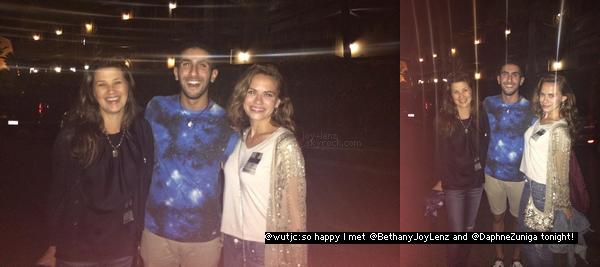 23 Juillet 2014 - Bethany Joy Lenz s'est rendue au concert de Lyve Lovett à San Diego avec Daphne Zuniga.