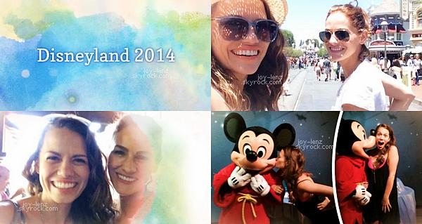 Comme vous avez pu le voir sur photos instagram, Bethany Joy Lenz est allée à Disneyland avec sa fille Maria Rose et son amie Kelly Overton et la fille de cette dernière. Notre chère Joy a posté un article sur son site à propos de son séjour là bas. On a même droit à une petite vidéo.