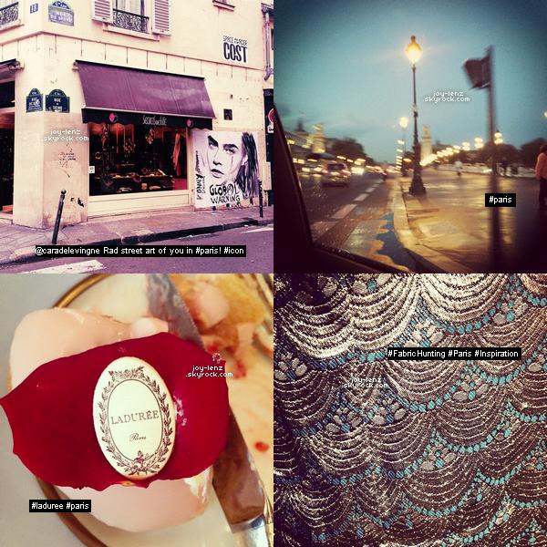 Voici des photos personnelles et vidéos de Bethany Joy Lenz à Paris.