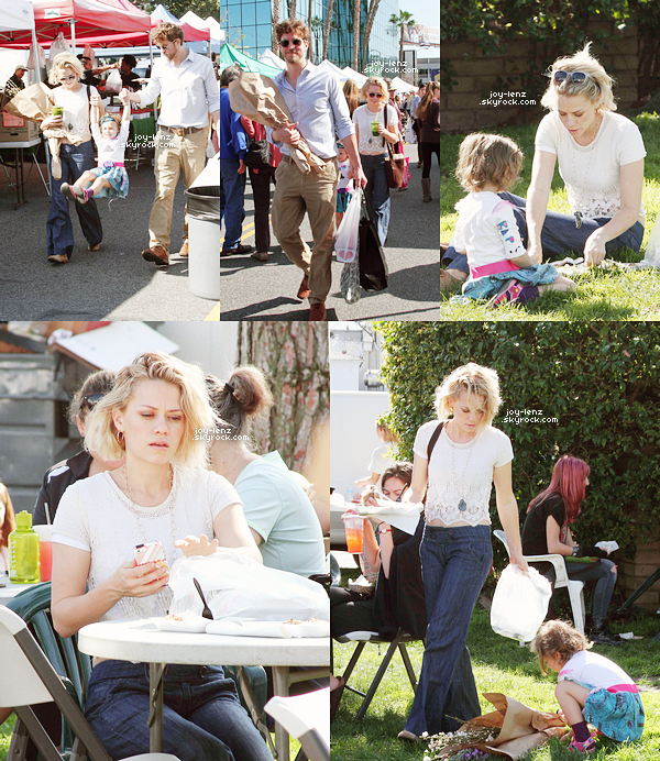 08 Février 2015 - Bethany, Maria et Wes au Farmer's Market.