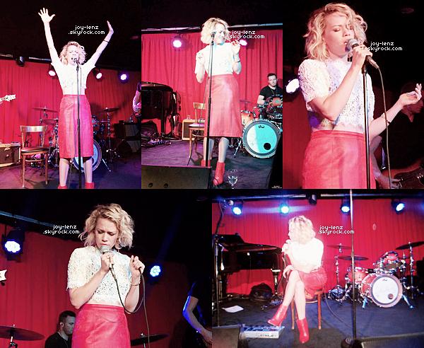 02 Avril 2015 - Bethany Joy etait en concert le soir de son anniversaire; des fans ont eu la chance d'entendre toutes les chansons de Get Back To Gold.