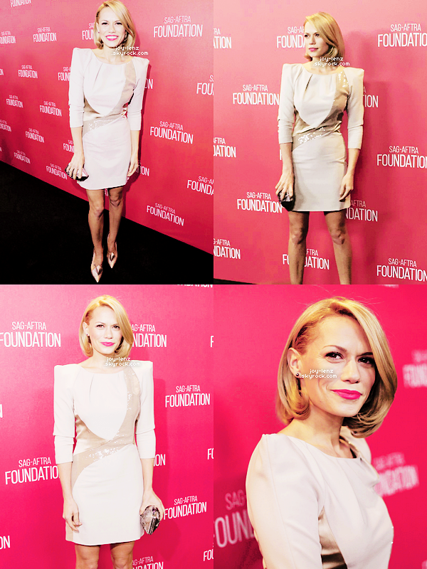 05 Novembre 2015 - Bethany était au Screen Actors Guild Foundation 30th Anniversary Celebration au Wallis Annenberg Center for the Performing Arts à Beverly Hills.