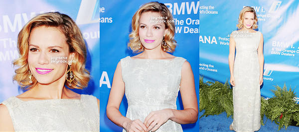 01er Aout 2015 - Bethany était au 2015 Oceana SeaChange Summer Party a Dana Point, en Californie.
