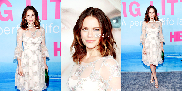 07 Février 2017 - Bethany Joy était a l'avant-première du film Big Little Lies de HBO au TCL Chinese Theatre à Hollywood.