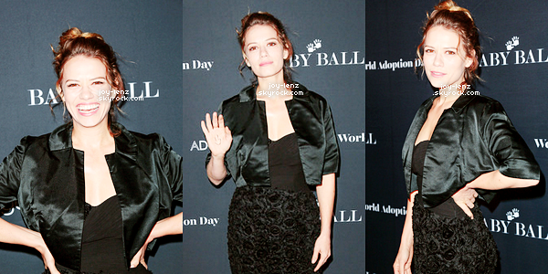 11 Novembre 2016 - Bethany Joy était à la deuxieme édition du Baby Ball Gala a NeueHouse à Hollywood.
