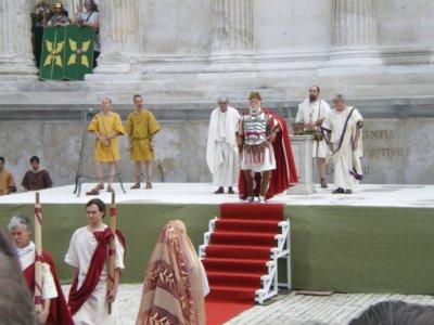 Les Grands Jeux Romains à Nimes  les 23 et 24 avril 2011