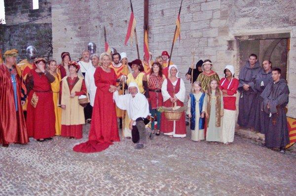 Villeneuve lez Avignon - balades nocturnes