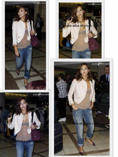 Vendredi 3 septembre:Jessica de retour de son voyage en Italie.