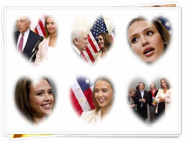 Lundi 23 mai: Jessica était à Washington pour une conférence à Captiole.