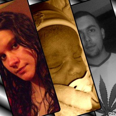 ma fille,honh et moi