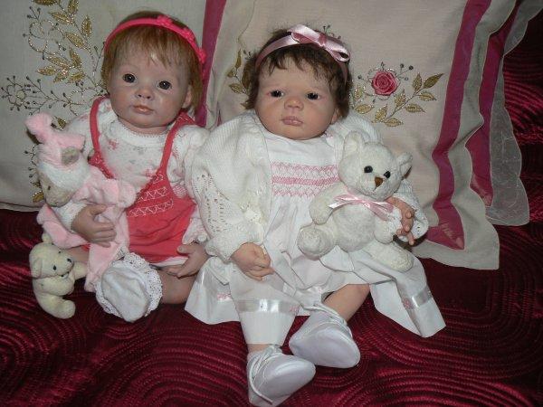 mes 2 princesses  charlotte et annie