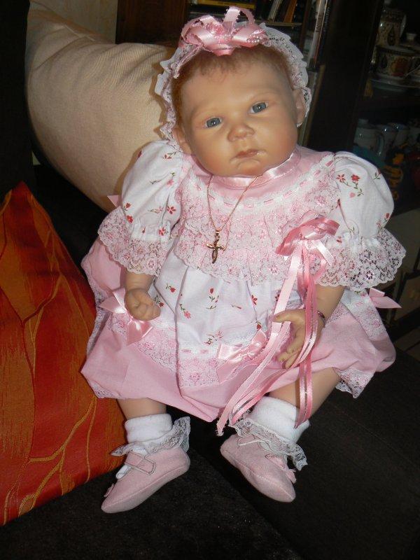 lucie- rose et sa jolie robe