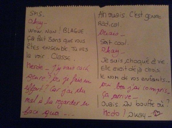 Petit mot d'amour (: