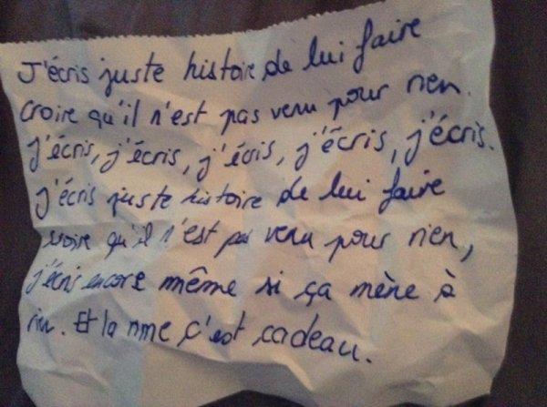 Petit mot d'amour (2)