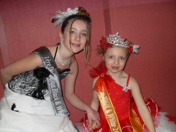 miss black  and  white  faustine  miss et camille  1 ere  dauph