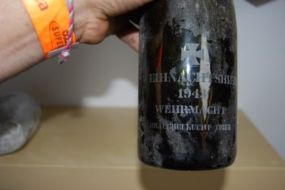bouteille vin noel 1943 WH whermacht