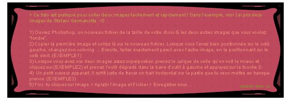 Tuto 01 - Le Fondu
