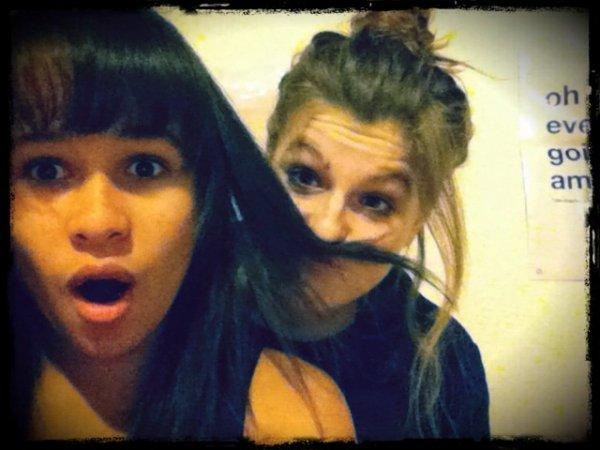 Ma petite Marie, et moi!♥