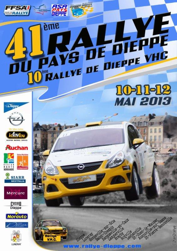 # Rallye du Pays de Dieppe 2013 #