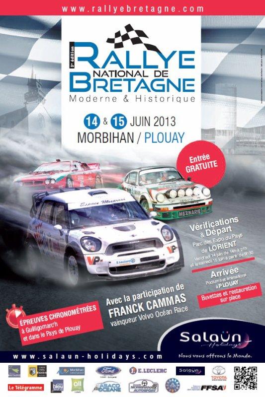 # Rallye de Bretagne 2013 #