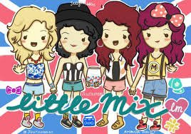 Dessin des Little Mix