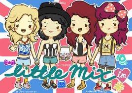 Dessin des Little Mix