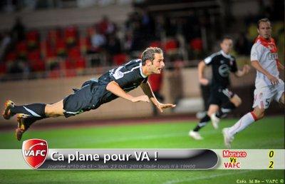____ Monaco / Valenciennes  10e Journée ; Résumé.   ____
