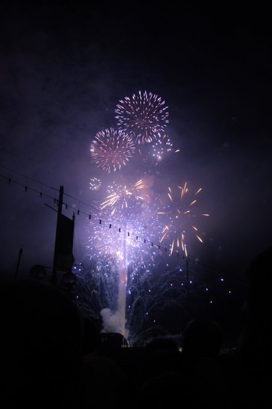 ÉTÉ 2011; Feu d'artifices du 13 Août (Genève).