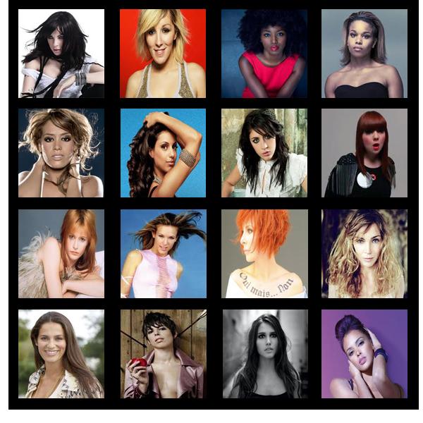 ♦ PRE-NOMINATIONS : Artiste Féminine Francophone de l'Année ♦