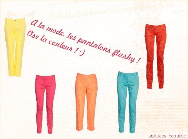 Les couleurs à la mode.