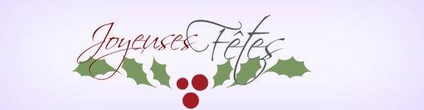 Joyeuses fêtes (partie 1 )