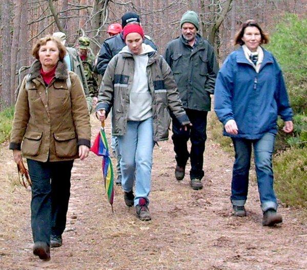 NACHTRAG 25: RK-Bad Dürkheim: Jahresabschluß - Wanderung 2007