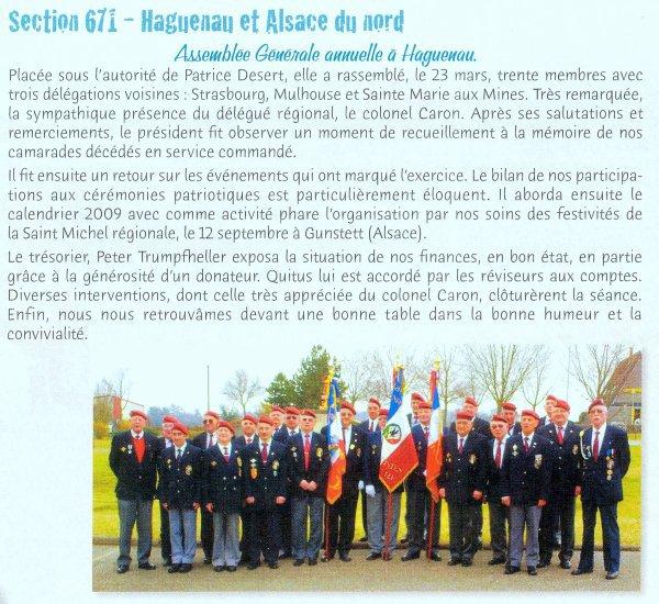 NACHTRAG 38: 22 mars 2009 - AG UNP Haguenau