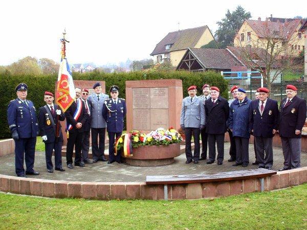 NACHTRAG 44: 11. November 2009 Waffenstillstandsfeier 1. Weltkrieg in Reipertswiller