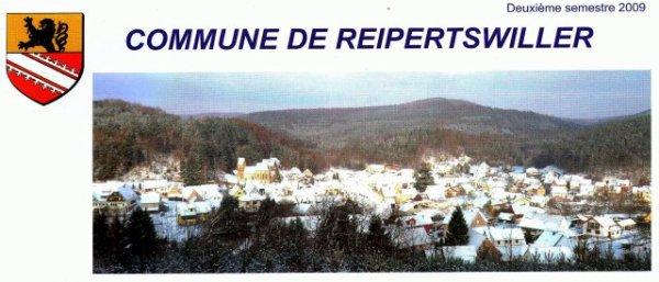 NACHTRAG 45: COMMUNE DE REIPERTSWILLER (1/2-jährliche Informationsausgabe) Titelseite