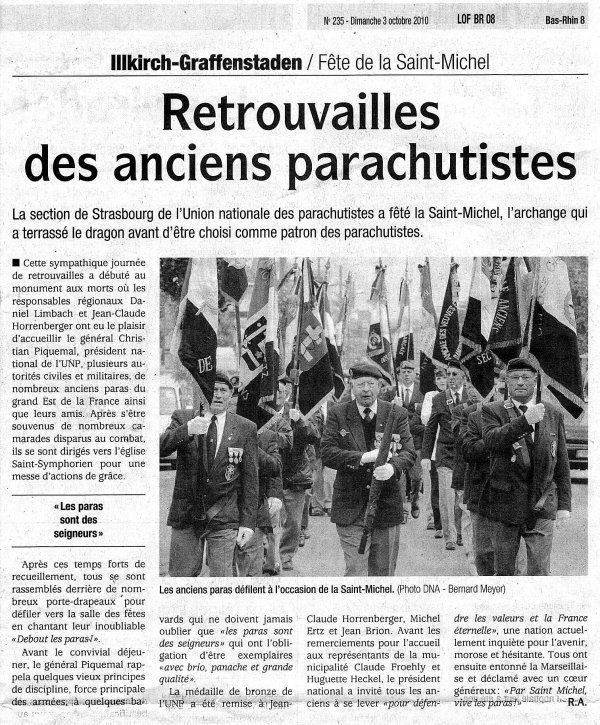 NACHTRAG 52: 03. Octobre 2010 - UNP - Saint-Michel regionale à Illkirch-Graffenstaden