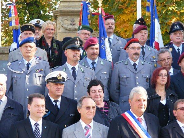 Nachtrag 62: 21. Oktober 2012 - Gedenkfeier und Festessen der ASSOCIATION DES SOUS-OFFICIERS DE RESERVE DE SAINT AVOLD ET ENVIRONS