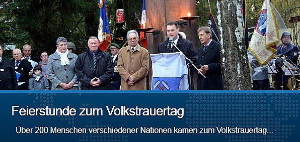 Nachtrag 64: 18. Nov. 2012 Volkstrauertag in Sulzbach/Saar