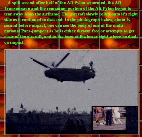 "NACHTRAG ""minus 1"": The crash of Boeing's CH-47C Chinook 74-22292 (11. September 1982 in Mannheim) Fortsetzung nächste Seite / Continued on next page / Suite à la page suivante"