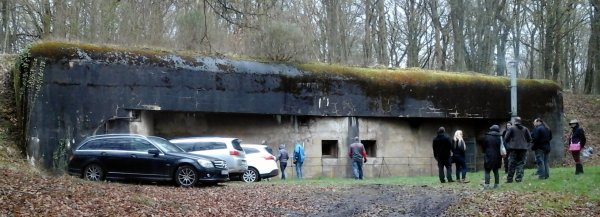 04/04/16 // Besichtigung der Ligne Maginot - Festungswerk Michelsberg und Kaserne Bilmette / Visite de la Ligne Maginot - Ouvrage Michelsberg et casernes Bilmette / Visit of the Maginot Line -  fortification Michelsberg and barracks Bilmette