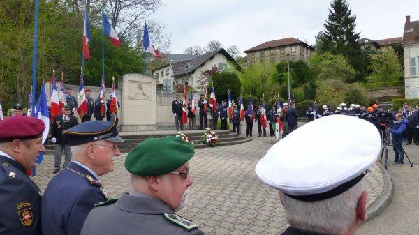 30/04/16 / Forbach // Camerone / Amicale des Anciens et Amis de la Legion Etrangere de Forbach & Environs