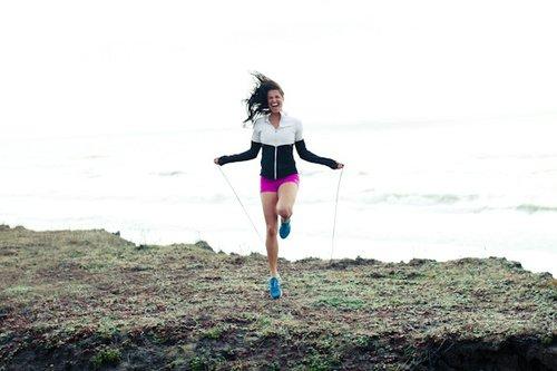 Corde à sauter oui oui c'est un sport!! :)