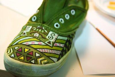 DIY: Des chaussures à relooker