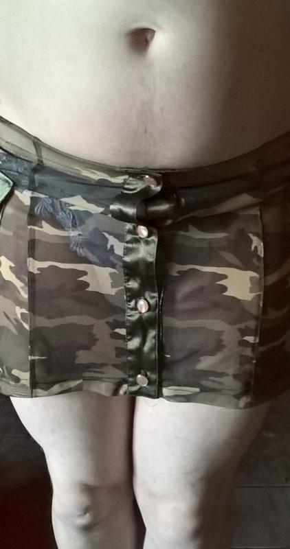 mini jupe transparente