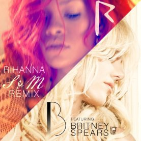 "New song: Rihanna ""S & M"" remix  featuring Britney Spears!"